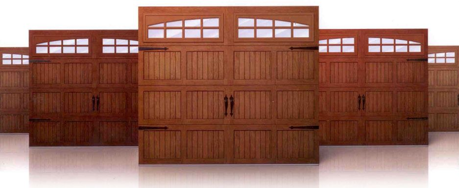 the beauty of wood - Eastern Overhead Doors (Oshawa) Ltd.